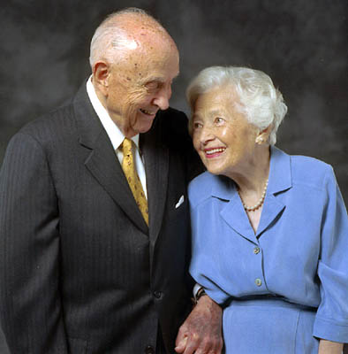 David B. Haight married Ruby Olsen in the 1920s. Strong-willed, organized and determined, she