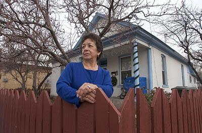 Senorina Fernandez is waiting for Ogden city officials to condemn her property so she can challenge the action in court. The city wants Fernandez's home and other properties to make way for a Super Wal-Mart.Courts are starting to take the property owners' side