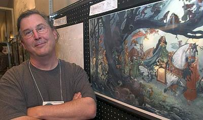 Charles Vess, with his fantasy work