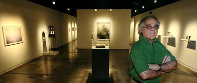 Ric Collier, director of the Salt Lake Art Center since 1996, limits exhibitions at the facility to about 12 shows a year.