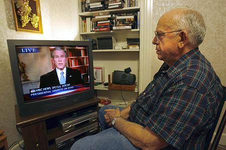 Forest Hansen of Salt Lake City is for Bush's plan.