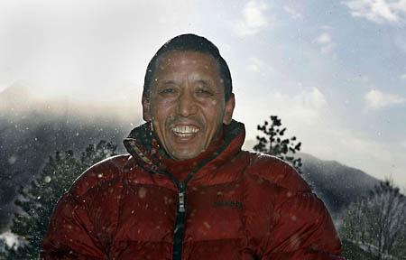 Apa Sherpa, who has summited Everest 16 times, has relocated his family to Draper. He plans a 17th attempt.
