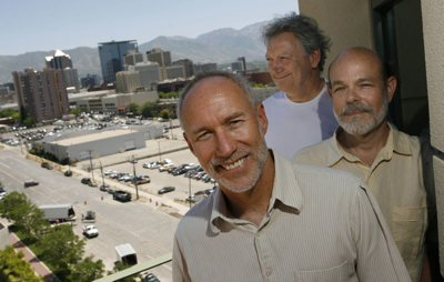 John Schaefer, Gilberto Schaefer (no relation) and Stephen Goldsmith, from left, are heading