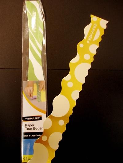 Products we like: Fiskars Paper Tear Edgers, $7.99