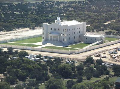The FLDS temple and compound in Elderado, TX.