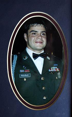 Larry Rougle was killed in Afghanstan on Oct. 23rd.