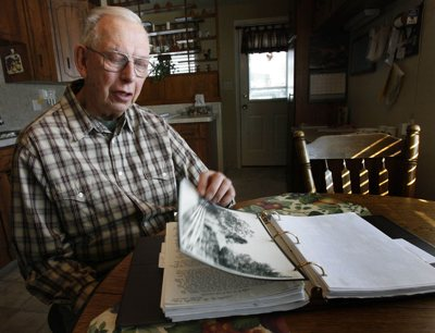 Merrill J. Nelson is a 76-year-old retired accountant who has given the Northwestern Band of the Shoshone a copy of his great-grandfather's autobiography.