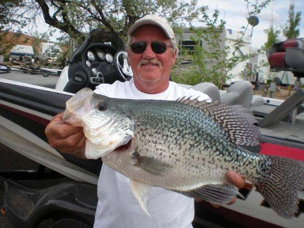 Fishing records angler 39 s crappie catch is a big one the for Crappie fishing in ga