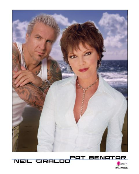 Pet Benatar and husband Neil Giraldo perform in Wendover this weekend.