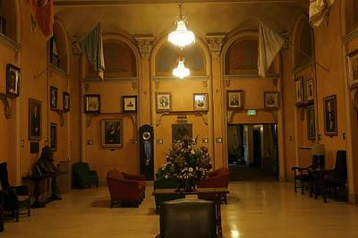 One of the rooms in the Temple.  The Salt Lake Masonic Temple was completed in 1927 and was built in 1 year, 3 months, and 22 days. The architect of the temple was Carl W. Scott and George W Welch.