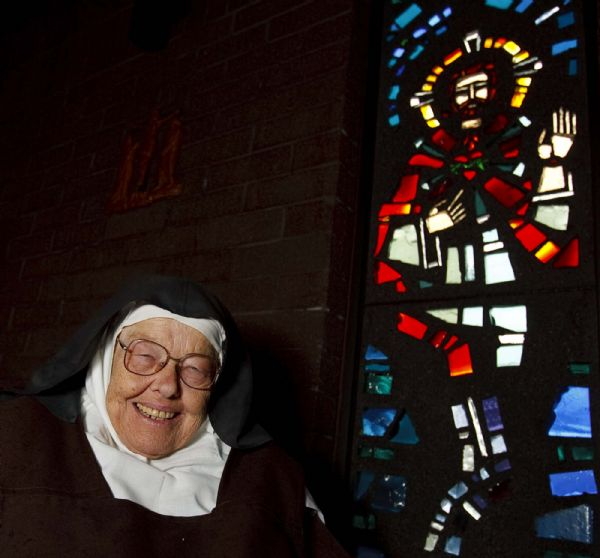 Salt Lake City - Sister Mary Joseph was raised in an LDS family, graduated from BYU and became a Catholic nun.  , Tuesday, September 15 2009.  Trent Nelson/The Salt Lake Tribune; 9.15.2009