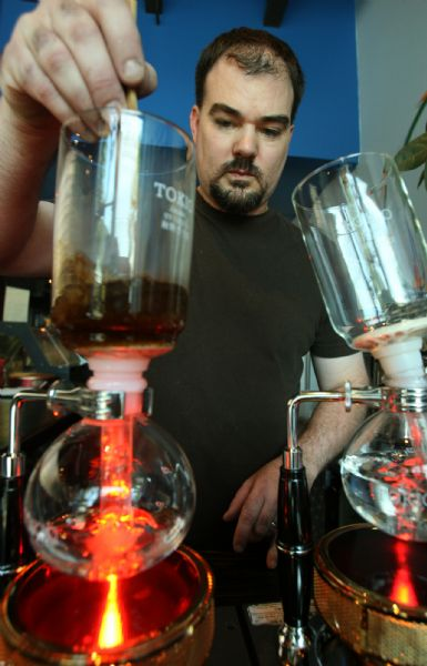 Caffe d'Bolla owner John Piquet will show us how he makes siphon coffee. This single-cup method for brewing coffee is extremely popular in Japan and has now made its way to the United States. Cafe d'Bolla is one of only two places in Utah to offer this unique brewing method. Aficianados say it is a more efficient way to extract the coffee flavor... and it makes an amazing cup of joe.