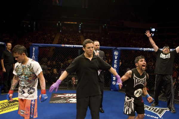 MMA: Jorgensen fights to thrill the fans