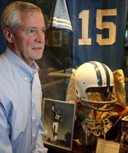 Marc Lyons was BYU's quarterback in 1969 at the time of the Black 14 protest. Wednesday, November 4 2009.