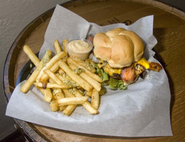 Dish Of The Week Lucky 13s Celestial Burger The Salt Lake Tribune