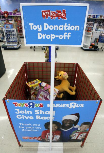 Toys R Us Donation Request : Some toys are for tots but others teens the