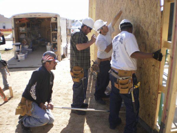 Clearfield Job Corps teens build homes in Louisiana - The Salt Lake ...