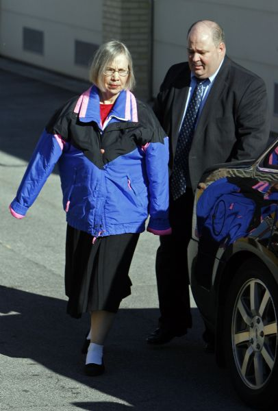 Wanda Eileen Barzee leaves Federal Court in Salt Lake City on  Nov. 17 after pleading guilty in the 2002 abduction of Elizabeth Smart. The 64-year-old wife of street preacher Brian David Mitchell stood before U.S. District Judge Dale Kimball and agreed to serve 15 years in prison.  Barzee also agreed to plead guilty in state court and testify against Mitchell, a self-proclaimed prophet who allegedly wanted Smart as a plural wife.