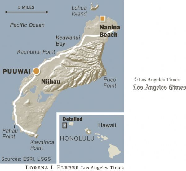 Hawaii: Pure bliss on the beaches of Niihau - The Salt ...