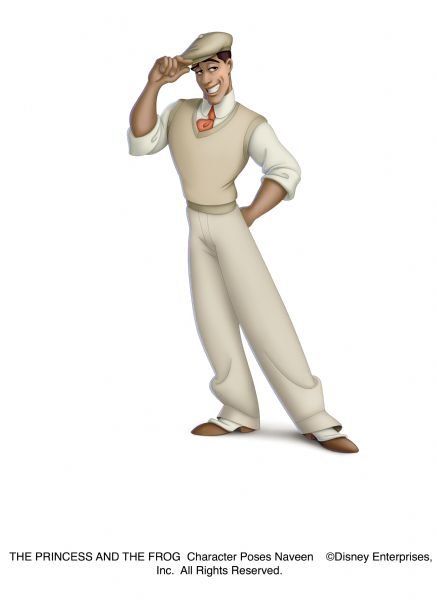 THE PRINCESS AND THE FROG    Character Poses  Naveen        ©Disney Enterprises, Inc.  All Rights Reserved.