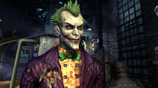screenshot from Batman: Arkham Asylum