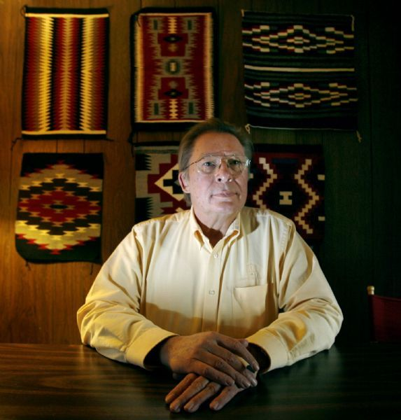 Brian Barnard is one of the attorneys who spent almost 18 years representing the San Juan Navajos in a suit against the state that alleged the state mismanaged a trust fund set up for the Navajos' benefit. A proposed out-of-court settlement was reached Tuesday.