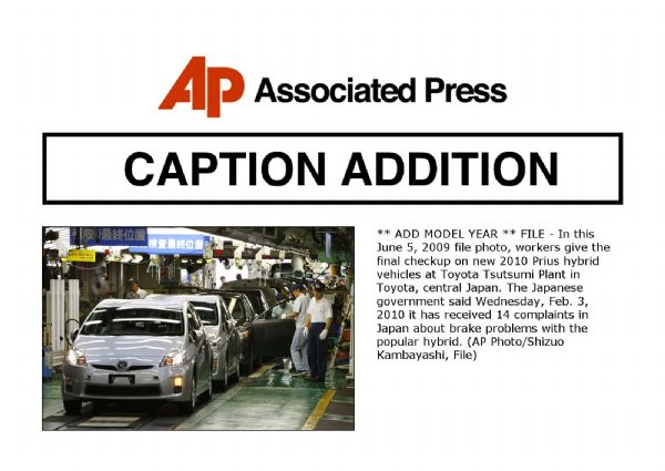 Scrutiny turns to vehicles outside Toyota recalls - The Salt Lake