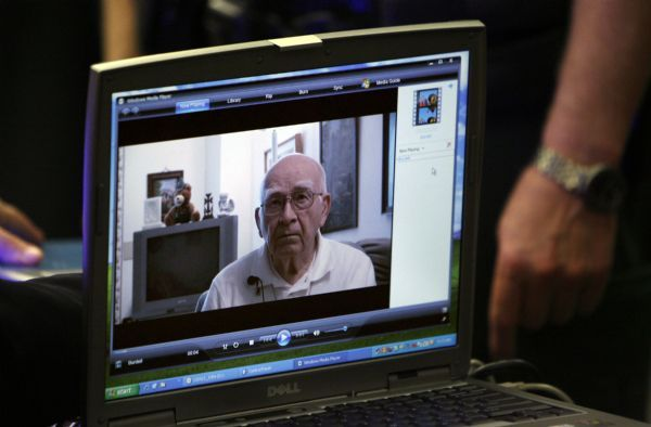 Francisco Kjolseth  |  The Salt Lake Tribune  Joseph Burdell is shown in a pre-recorded video expressing his belief that Ronnie Lee Gardner should not be executed for killing his son Michael Burdell. An execution date was set a short while later for Ronnie Lee Gardner on April 18, 2010, by a state judge at the Matheson Courthouse in Salt Lake City, setting the stage for Utah's first execution in more than a decade.