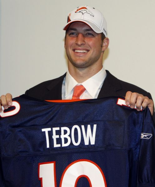 Tebow Face Of Character Draft