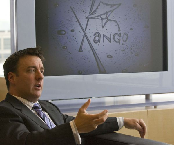 Founder and Chairman of the Board of Xango, Aaron Garrity, in his office at Thanksgiving Point. on  Tuesday, January 5,2010  photo:Paul Fraughton/ The Salt Lake Tribune