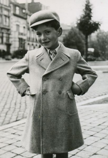Seven-year-old Daniel Mattis in Brussels, before his family fled the Nazi invasion of Belgium and escaped to Bordeaux.