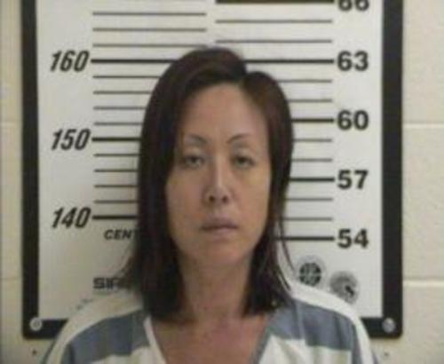 Sun Cha Warhola (Davis County Jail photo)