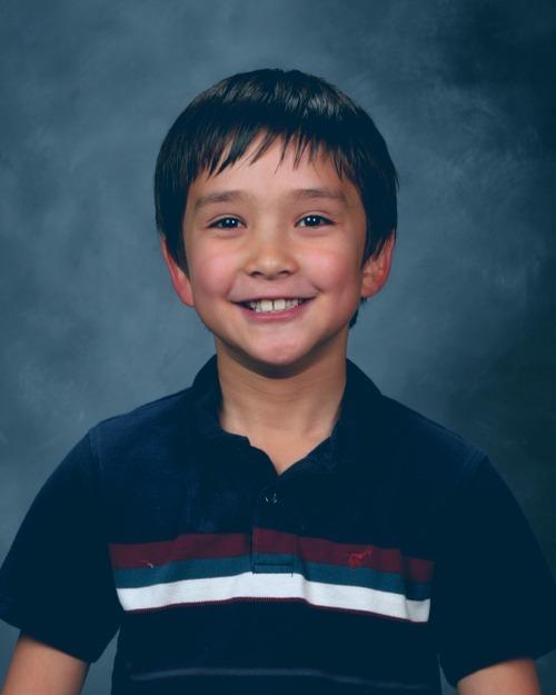 James Warhola (East Layton school photo)