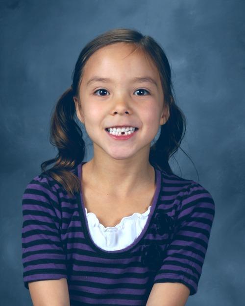 Jean Warhola (East Layton school photo)
