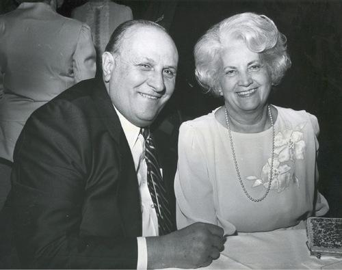 Douglas and Barbara Smith. Salt Lake Tribune archive.