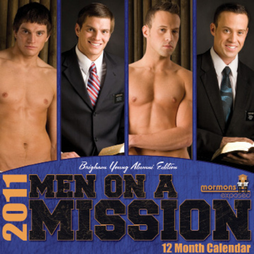 2011 Men on a Mission Calendar. Brigham Young Alumni Edition.  Courtesy Image