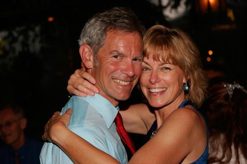 Mayor Ralph Becker and girlfriend Kate KopischkeCourtesy Somer Ahonen