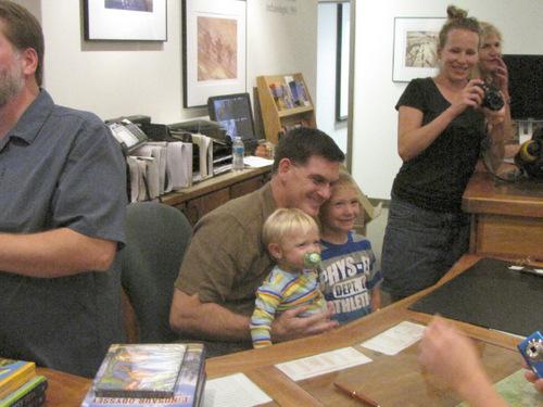 Mark Havnes     The Salt Lake Tribune Paleontologist Scott Sampson, author and host of PBS children's science program