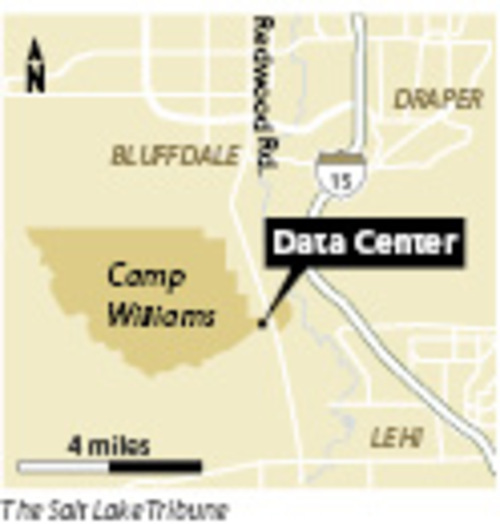 The Utah Data Center at Camp Williams The list of contractors bidding for the right to build the $1 billion