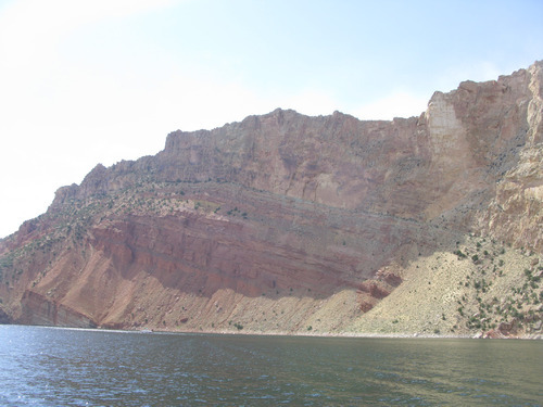 A section of the Green River near Dutch John in northeastern Utah. A proposed pipeline that would ship water above Flaming Gorge to the Denver area could impact fishing on the Green River.