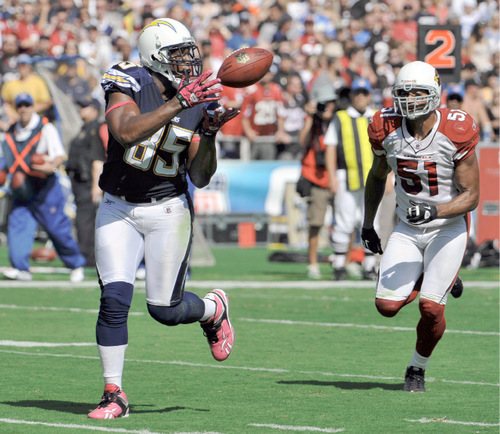 San Diego Chargers Gates: Chargers 41, Cardinals 10: Max Hall Gets Playing Time
