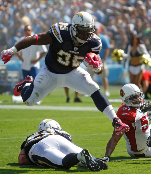 San Diego Chargers Cardinals: Chargers 41, Cardinals 10: Max Hall Gets Playing Time