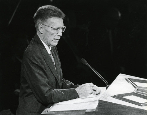 Bruce R. McConkie (Salt Lake Tribune Library)