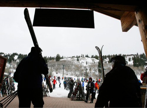Tribune file photo by Steve GriffinFinishing first in six categories -- grooming, service, access, on-mountain food, lodging and dining -- Deer Valley Resort appealed to many of Ski magazine's readers, who voted the Park City area to be the No. 1 resort in North America for a fourth straight year.
