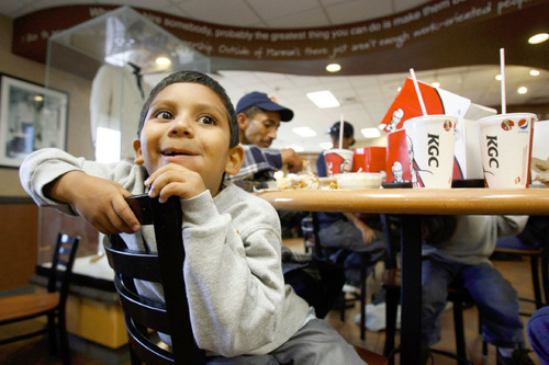 Salt Lake Event Highlights Kfc Hunger Effort The Salt Lake Tribune