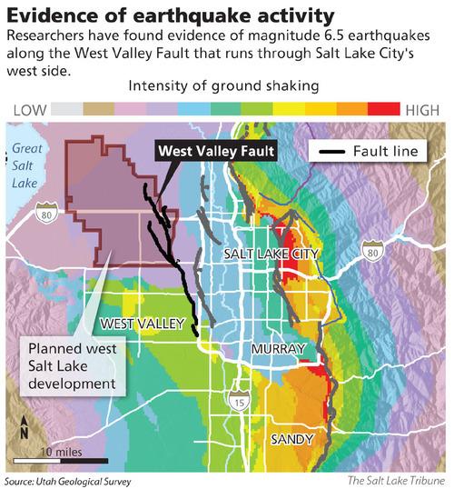 Quake Evidence Raises Red Flag In North Quadrant