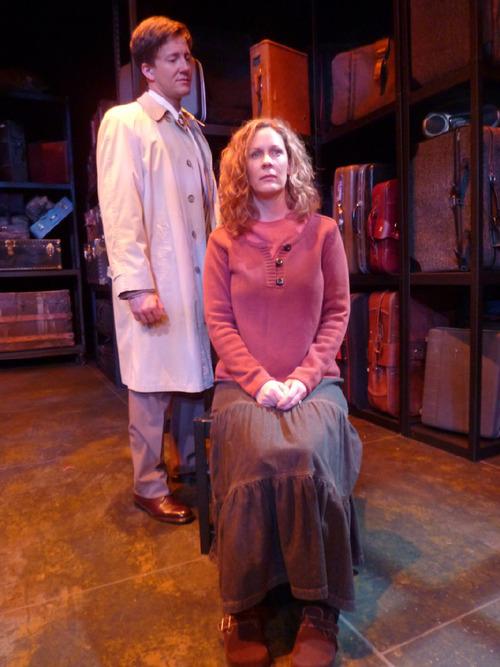 Alexander Bala as Joe, left, and Christy Summerhays as Harper in