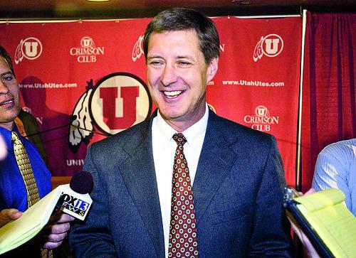 Chris Hill, Utah athletic director.