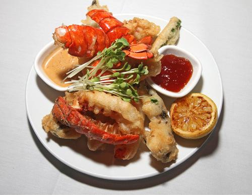 Rick Egan   |  The Salt Lake Tribune Lobster tempura at Fleming's Prime Steakhouse & Wine Bar in downtown Salt Lake City.