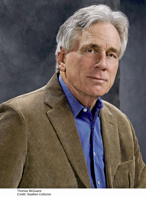 Novelist Thomas McGuane will be at the Salt Lake City Main Library Oct. 23 as part of the 13th Annual Utah Humanities Book Festival.